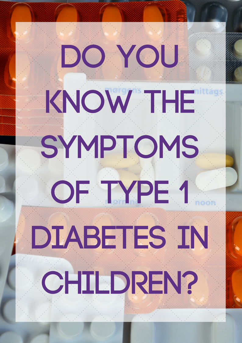 how to know if you have type 1 diabetes