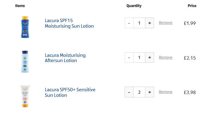 Summer Holidays Essentials Price Comparison