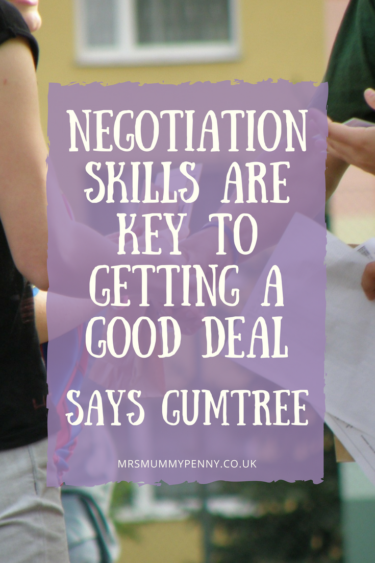 Negotiation skills are key to getting a good deal, says