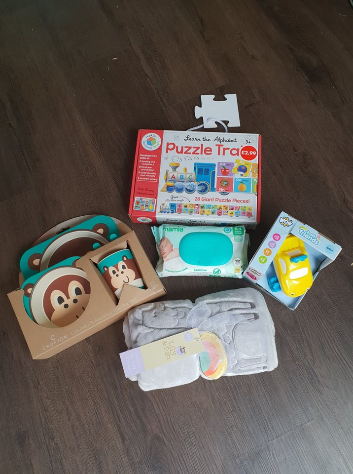 Aldi Baby and Toddler Event prize bundle