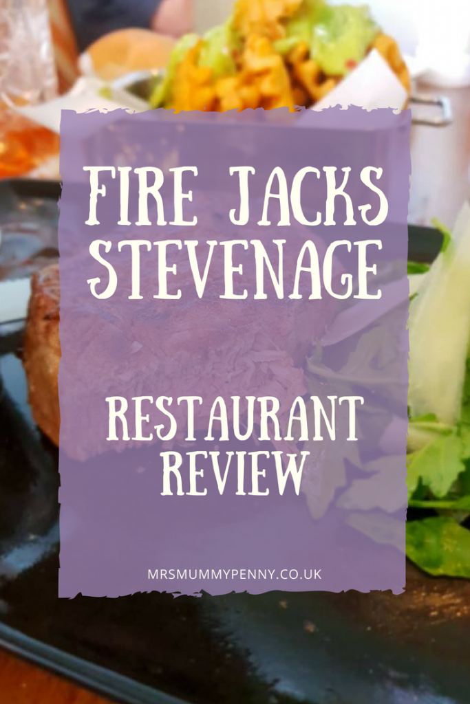 Fire Jacks Stevenage Restaurant Review