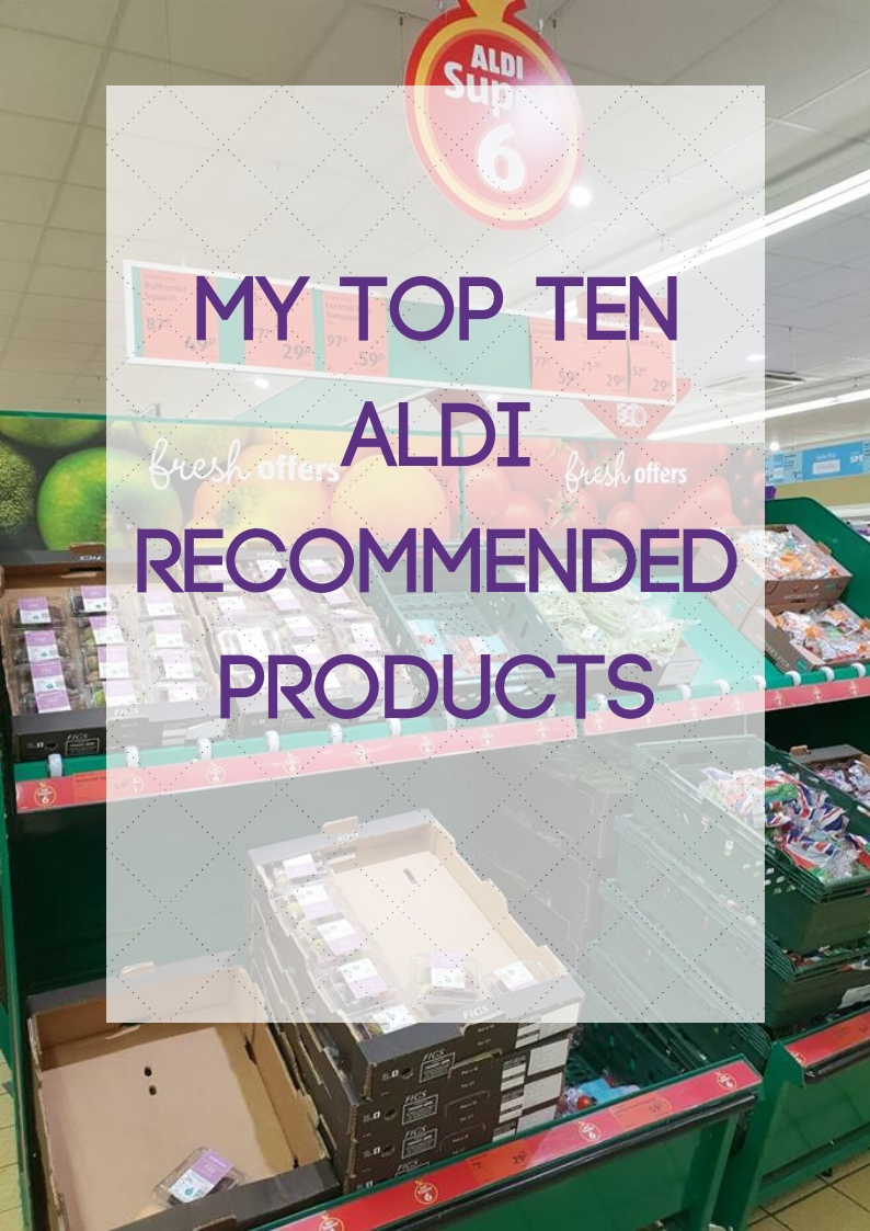 top ten aldi recommended products