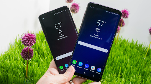 Best Large Smartphones Samsung s9 plus