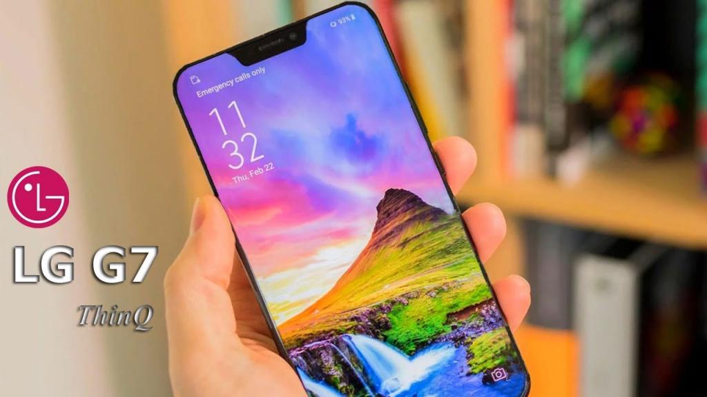 Best Large Smartphones LG G7