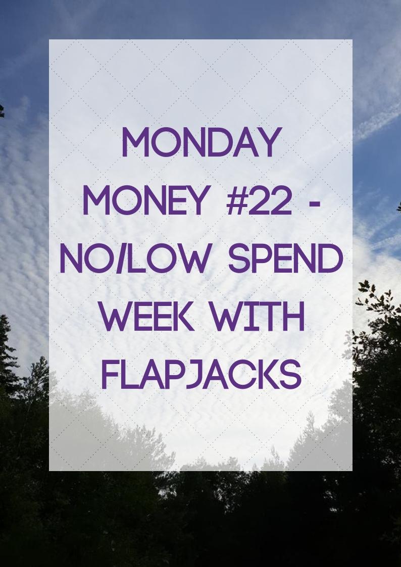 no/low spend week