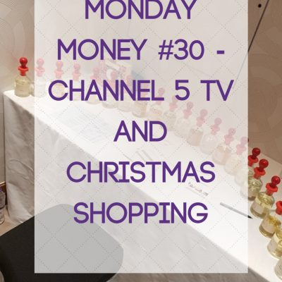 Monday Money #30 – Channel 5 TV and Christmas Shopping