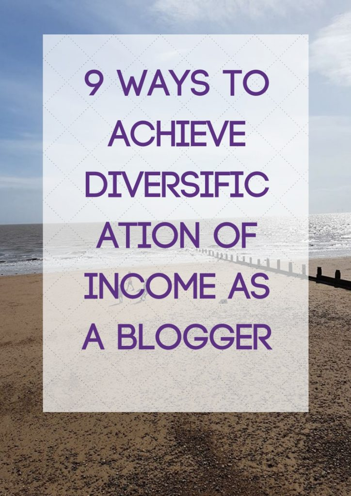 Achieve Diversification of Income as a Blogger