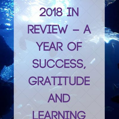 2018 in Review – A year of Success, Gratitude and Learning
