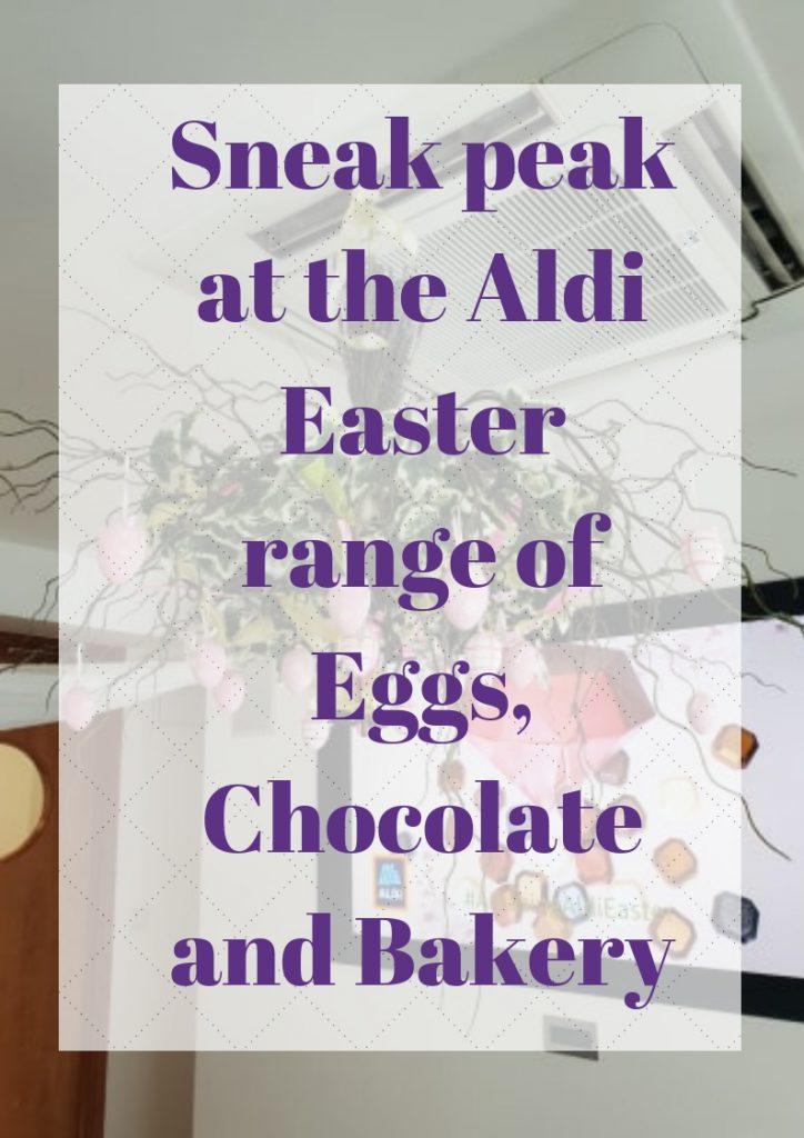 Aldi Easter Range
