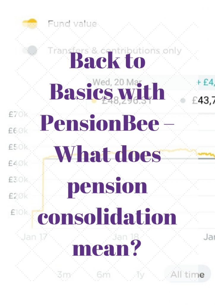 What does pension consolidation mean?