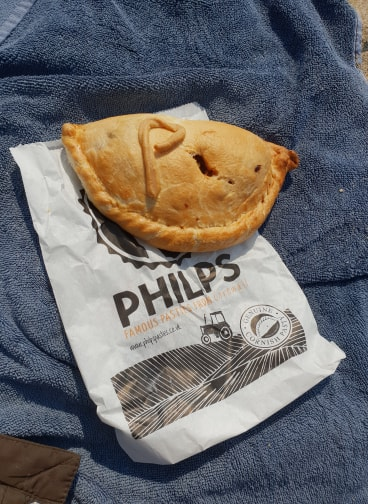 A trip to cornwall Philps Pasty