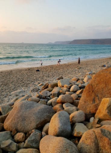 A trip to cornwall - sunset at sennen