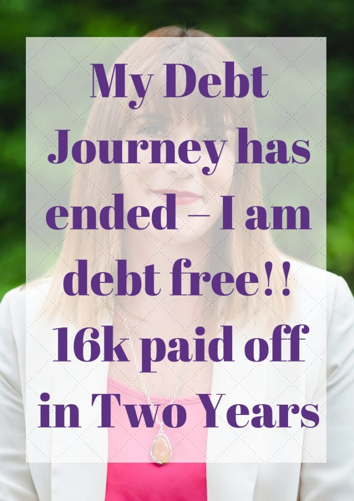 My Debt Journey has ended