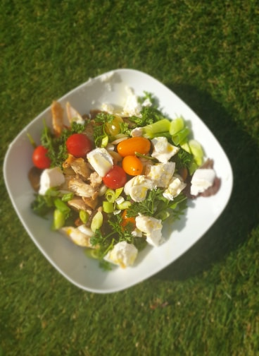 Chicken and Goats Cheese salad