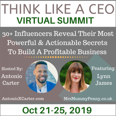 Get Your Free Ticket to the Think Like a CEO Virtual Summit
