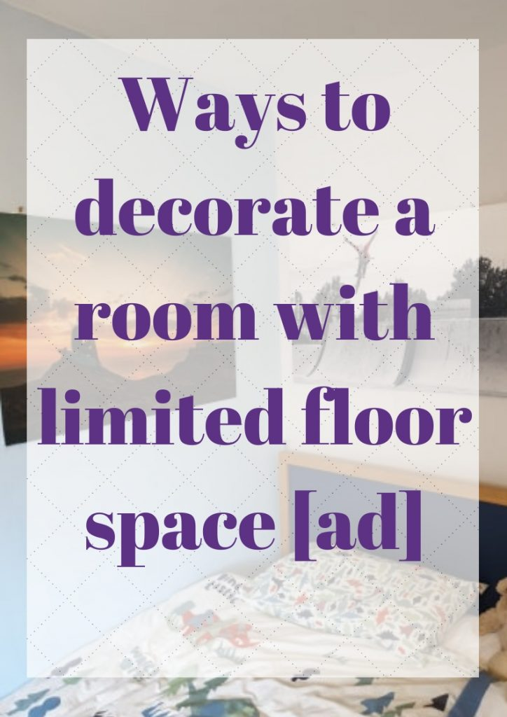 ways to decorate a room with limited floor space