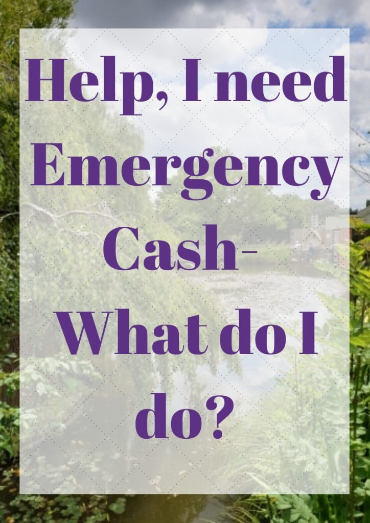 I need emergency cash