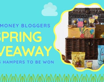 Positivity Post – Win 1 of 5 M&S Easter Hampers with UK Money Bloggers