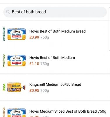 Brand New Free Supermarket Price Comparison Tool in Latest Deals App