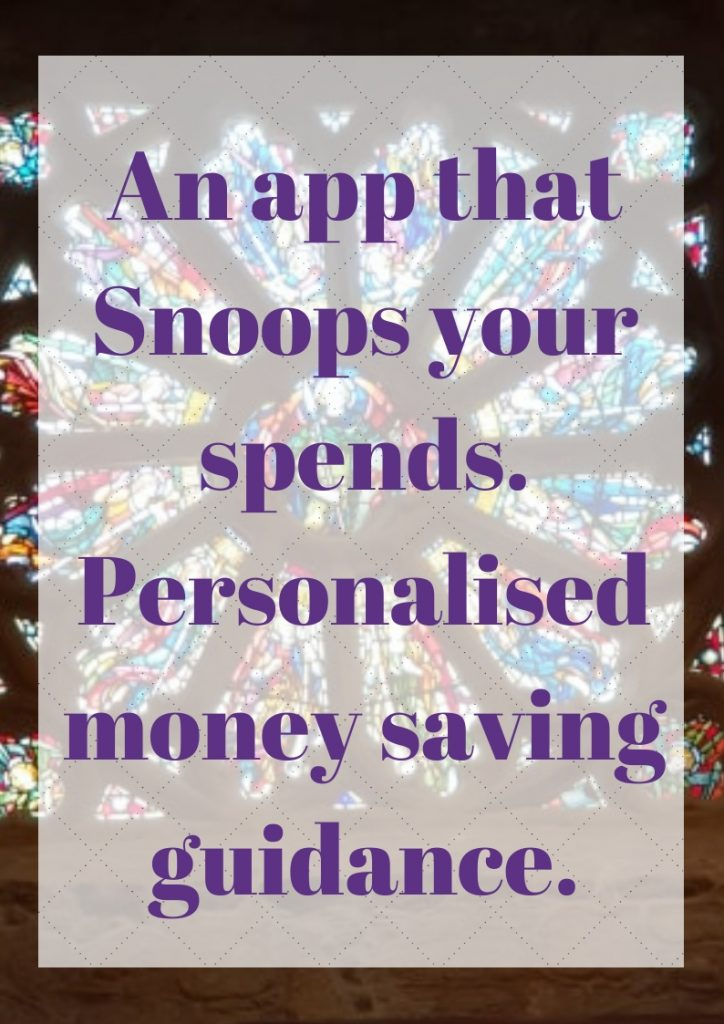 Personalised Money Saving Guidance