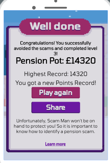 Raising awareness of Pension Scams