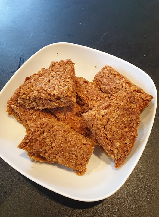 Lockdown Spending Diary Week 6 flapjacks