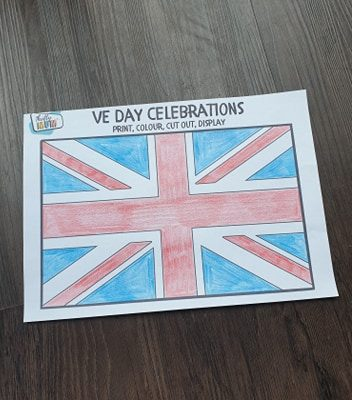 VE Day Printables and crafts for the family