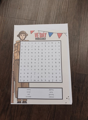 VE Day Printables and crafts