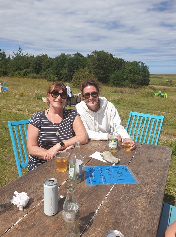 Staycation in Wells-Next-The-Sea Blakeney cider drinking