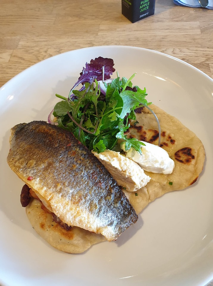 Staycation in Wells-Next-The-Sea Sea bass at Sands