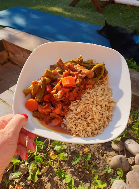 How I lost 2 Stone with Clean Eating vegan curry